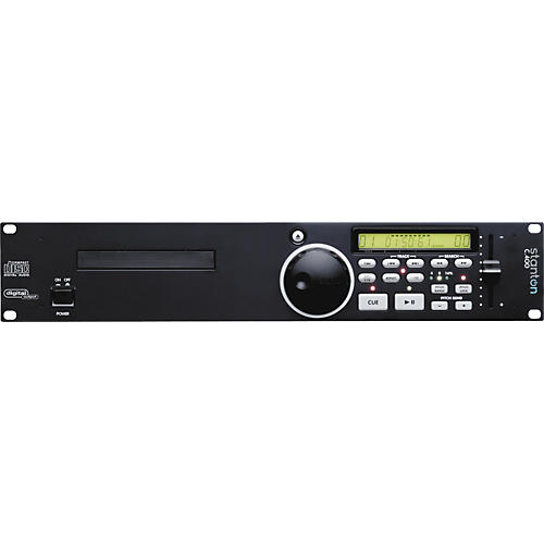 stanton rackmount single cd player musician 39 s friend. Black Bedroom Furniture Sets. Home Design Ideas