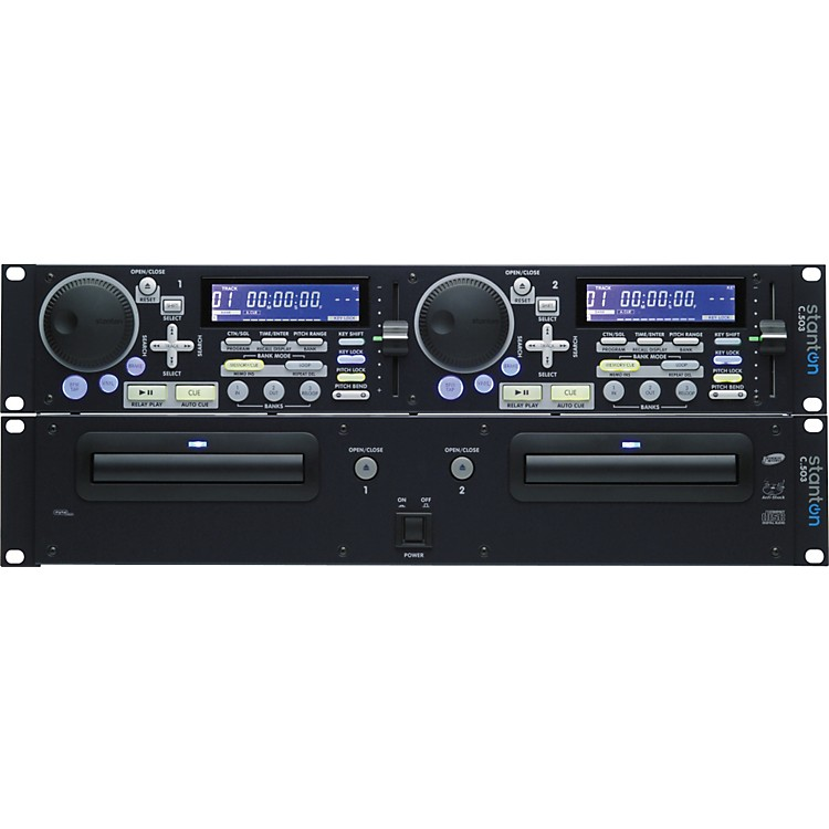 Stanton C.503 Dual Rackmount CD Player