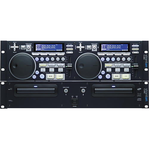 stanton dual rackmount cd player with mp3 playability musician 39 s friend. Black Bedroom Furniture Sets. Home Design Ideas