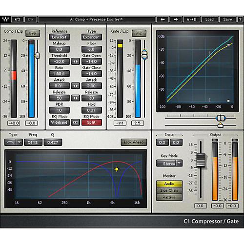 Waves C1 Compressor Native/TDM/SG Software Download-thumbnail