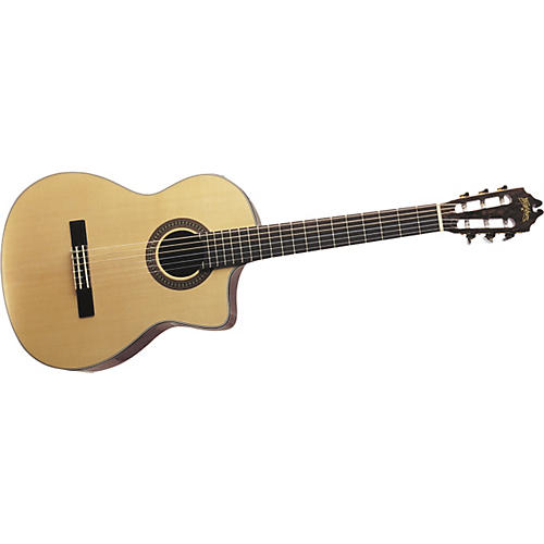 Washburn C104SCE Classical Acoustic-Electric Guitar-thumbnail