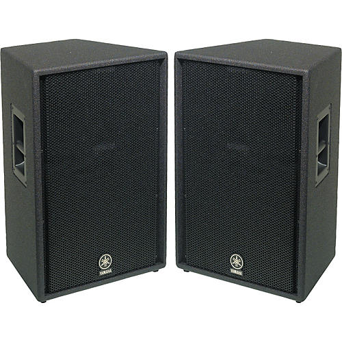 yamaha c115v 15 2 way club speaker pair musician 39 s friend ForYamaha 15 Speakers