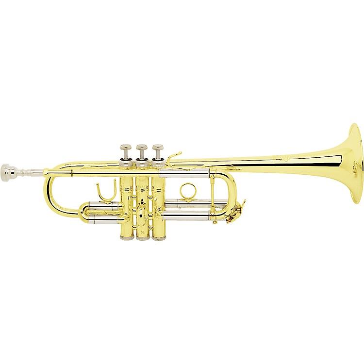 BachC180 Stradivarius Series Professional C TrumpetC180SML Silver ML Bore 239 Bell 25C Leadpipe
