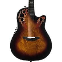 Ovation C2078AXP Elite Plus Contour Acoustic-Electric Guitar Sunburst
