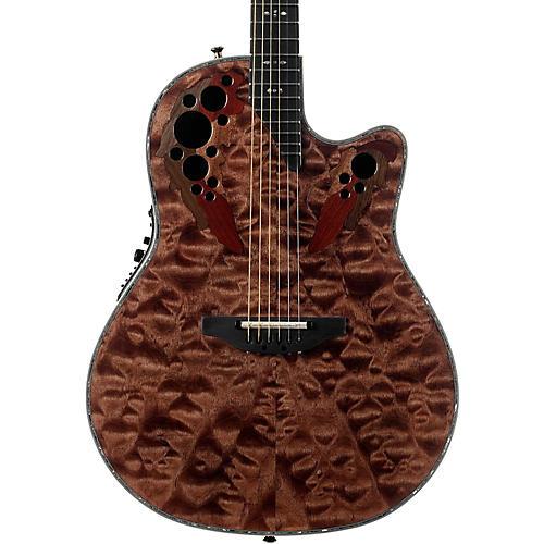 Ovation C2078AXP Elite Plus Contour Acoustic-Electric Guitar Tiger Eye