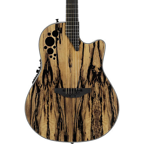 ovation c2078axp re exotic wood elite plus royal ebony acoustic electric guitar natural. Black Bedroom Furniture Sets. Home Design Ideas