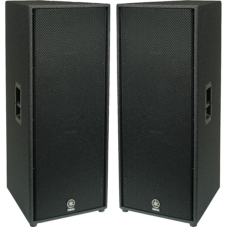 Yamaha c215v dual 15 2 way club speaker pair musician 39 s for Yamaha 15 speakers