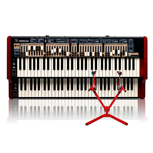 Nord C2D Combo Organ with Matching 2-Tier Keyboard Stand-thumbnail
