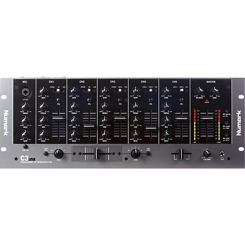 Numark C3USB DJ Mixer with USB