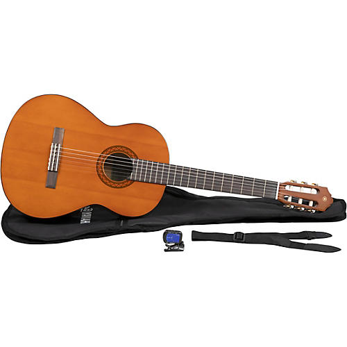 Yamaha C40 Gigmaker Classical Acoustic Guitar Pack Natural