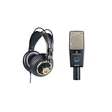 AKG C414 XLS and K240 Mic and Headphone Package