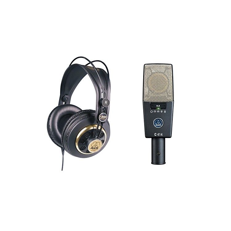 AKGC414 XLS and K240 Mic and Headphone Package