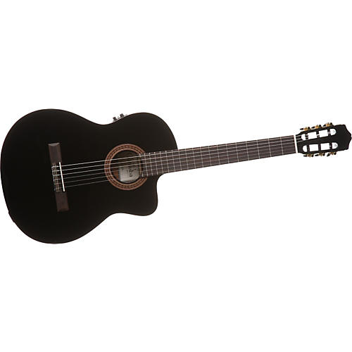 Cordoba C5-CEBK Nylon-String Acoustic-Electric Guitar