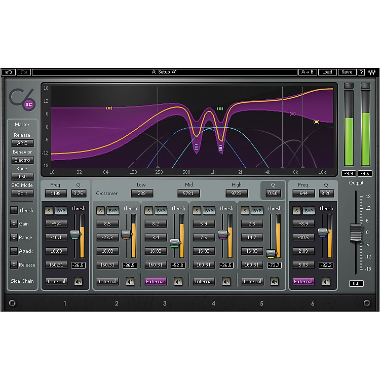 Waves C6 Multiband Compressor Native Software  Download
