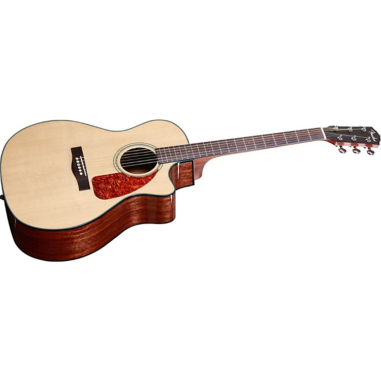 Fender CA 360SCE Auditorium Solid Top Cutaway Acoustic-Electric Guitar