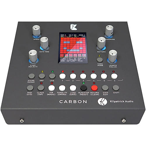 Kilpatrick Audio CARBON Sequencer and Performance System-thumbnail
