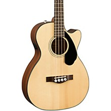 Fender CB-60SCE Acoustic-Electric Bass Guitar Natural