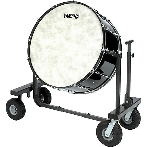 Yamaha CB-628 Concert Bass Drum With T-Bass Stand & Cover