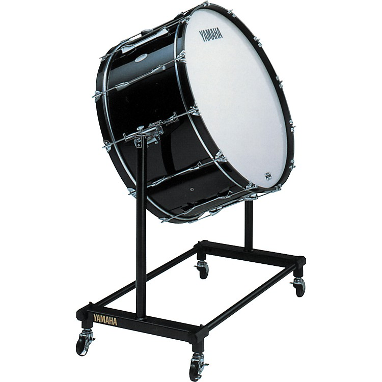 Yamaha CB-632 Concert Bass Drum With BS751 Stand & Cover