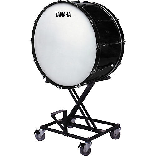 Yamaha CB-636 Concert Bass Drum with BS425 Stand & Cover