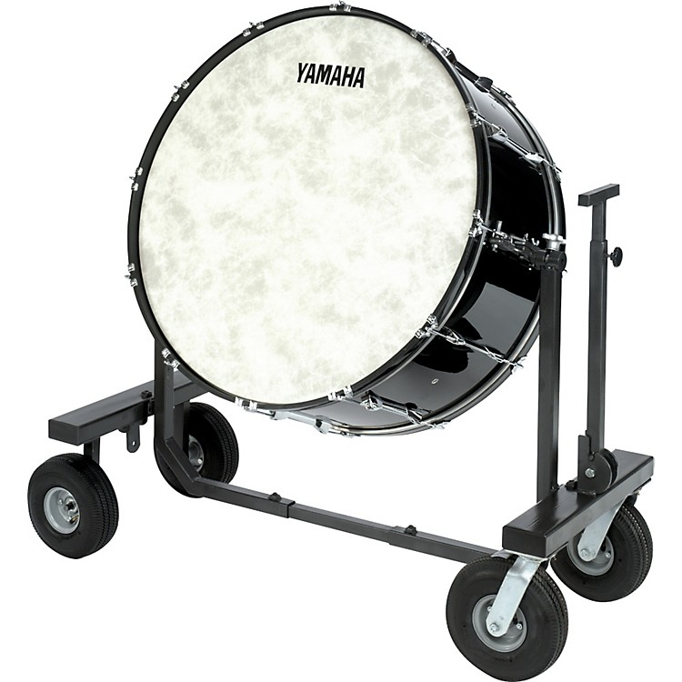 Yamaha CB-636 Concert Bass Drum with T-Bass Stand & Cover