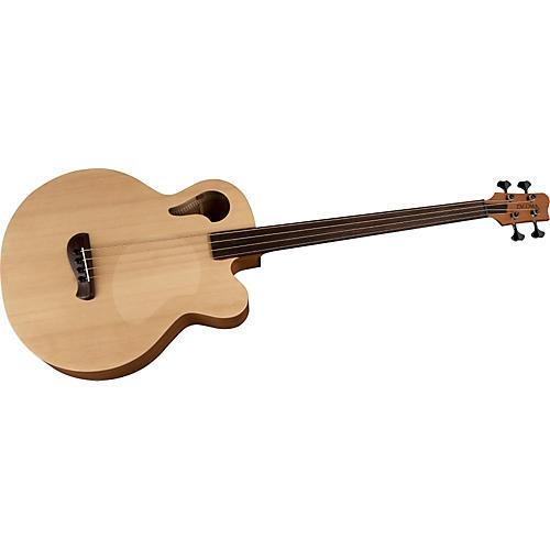 tacoma cb10fc e6 thunderchief fretless acoustic electric bass guitar musician 39 s friend. Black Bedroom Furniture Sets. Home Design Ideas