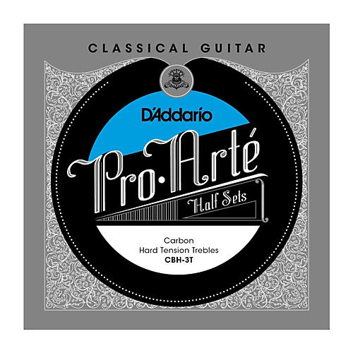 D'Addario CBH-3T Pro-Arte Hard Tension Classical Guitar Strings Half Set