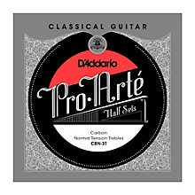 D'Addario CBN-3T Pro-Arte Normal Tension Classical Guitar Strings Half Set