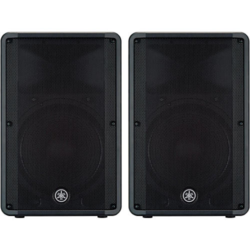Yamaha cbr15 15 speaker pair musician 39 s friend for Yamaha 15 speakers