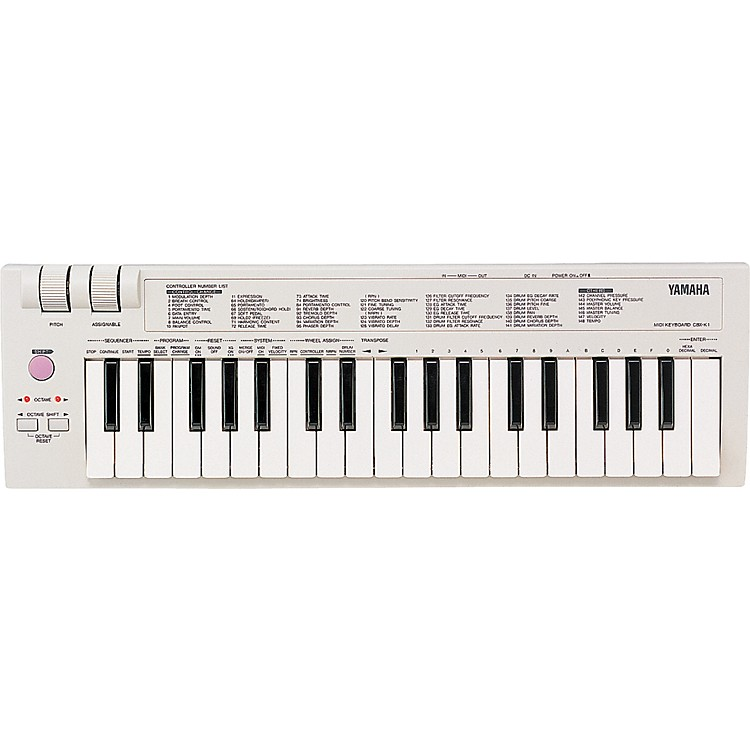 yamaha cbxk1 midi keyboard musician 39 s friend