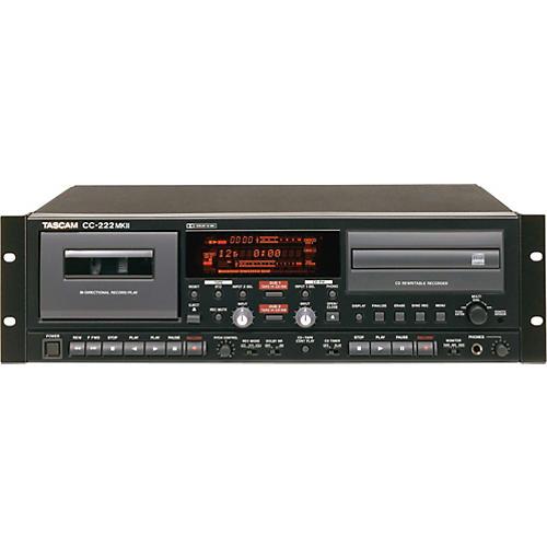 Tascam CC222MKII CD/Cassette Recorder Combo-thumbnail