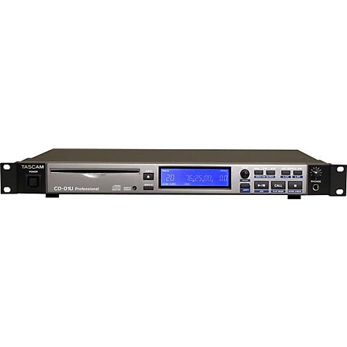 TASCAM CD-01U Pro 1-Rackspace CD Player