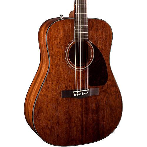 Fender CD-140S All Mahogany Acoustic-Electric Guitar Natural
