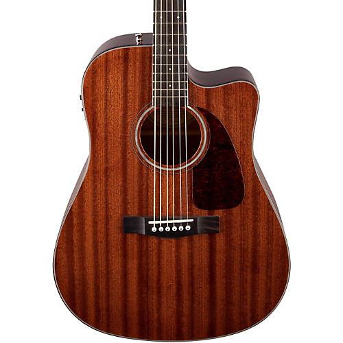 fender cd 140sce all mahogany acoustic electric guitar natural musician 39 s friend. Black Bedroom Furniture Sets. Home Design Ideas