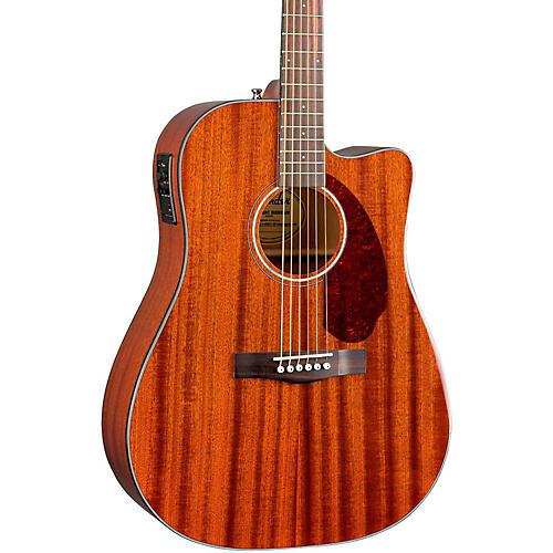 fender cd 140sce mahogany top acoustic electric guitar natural musician 39 s friend. Black Bedroom Furniture Sets. Home Design Ideas