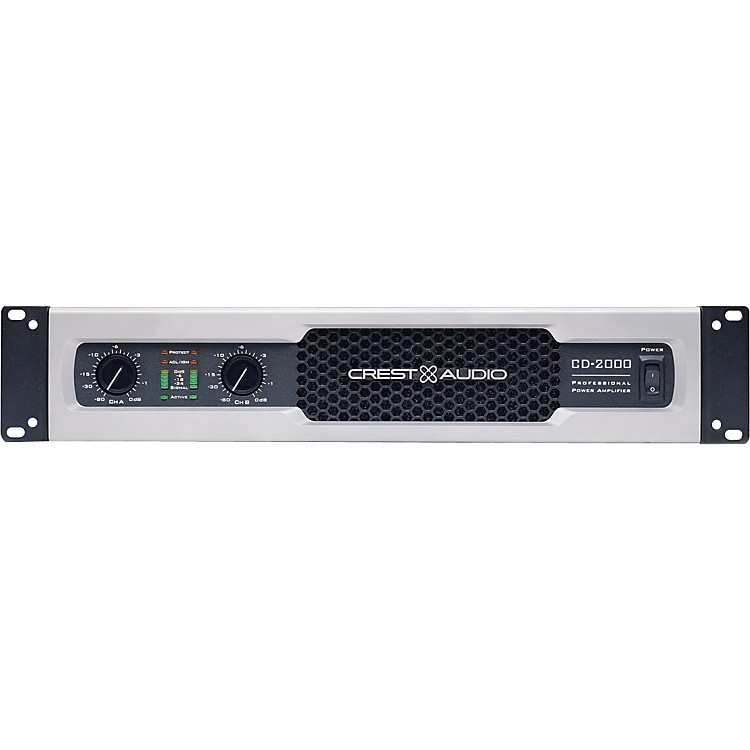 Crest AudioCD 2000 2000W Power Amplifier
