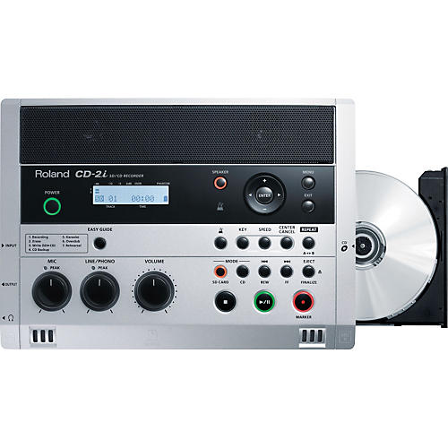 Roland CD-2i CD/SD Battery Powered Recorder