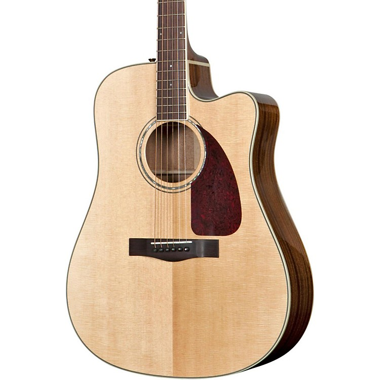 Fender CD 320ASCE Dreadnought Cutaway Acoustic-Electric Guitar Natural