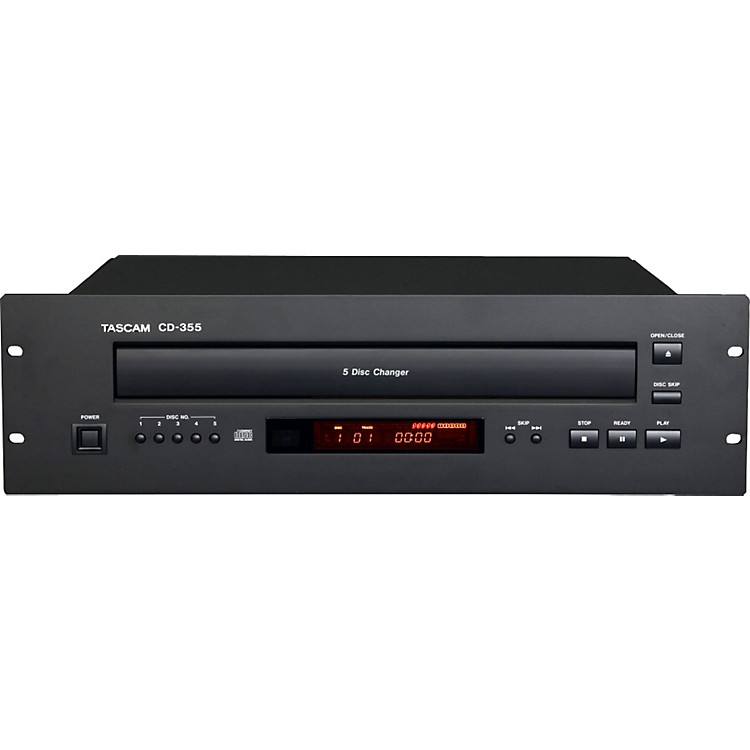 TASCAM CD-355 Five-disc Carousel CD Player