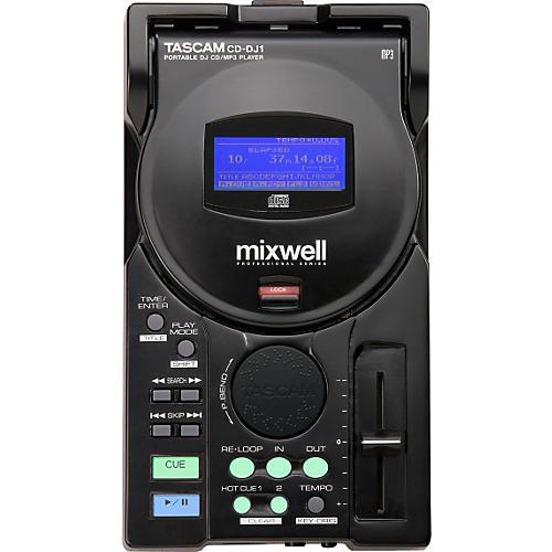 Tascam CD-DJ1 Portable DJ CD/MP3 Player