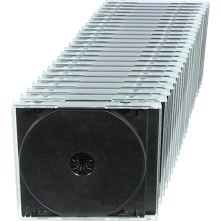 MicroboardsCD/DVD/Blu-ray Jewel Cases - 200 Pack