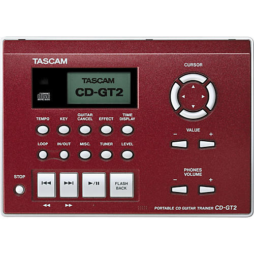 Tascam CD-GT2 Portable CD Guitar Trainer