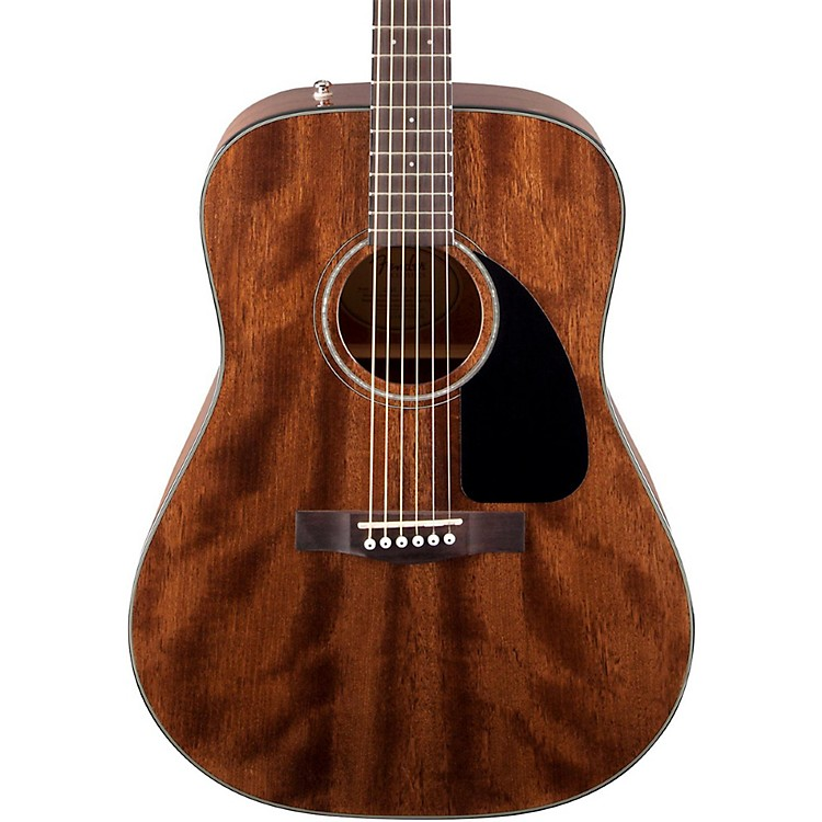 Fender CD60 All-Mahogany Acoustic Guitar Natural