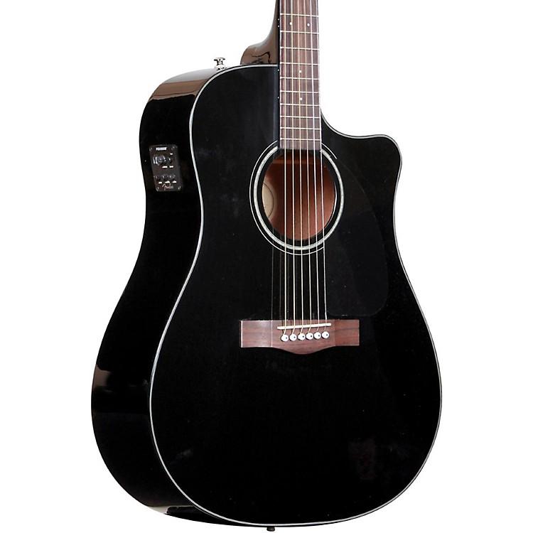 FenderCD60CE Cutaway Dreadnought Acoustic-Electric GuitarBlack