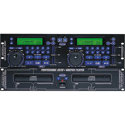VocoPro CDG-9000PRO Professional Dual CD and CDG Player