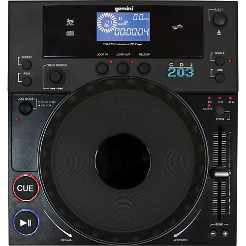 Gemini CDJ-203 Professional CD Player