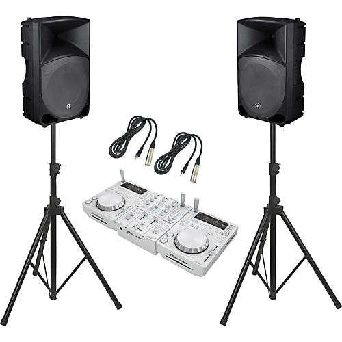 Pioneer CDJ-350 / DJM-350 / TH-15A Thump DJ Package-thumbnail