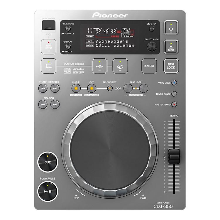 PioneerCDJ-350 Digital Multi Player (Silver)SilverMulti format playback