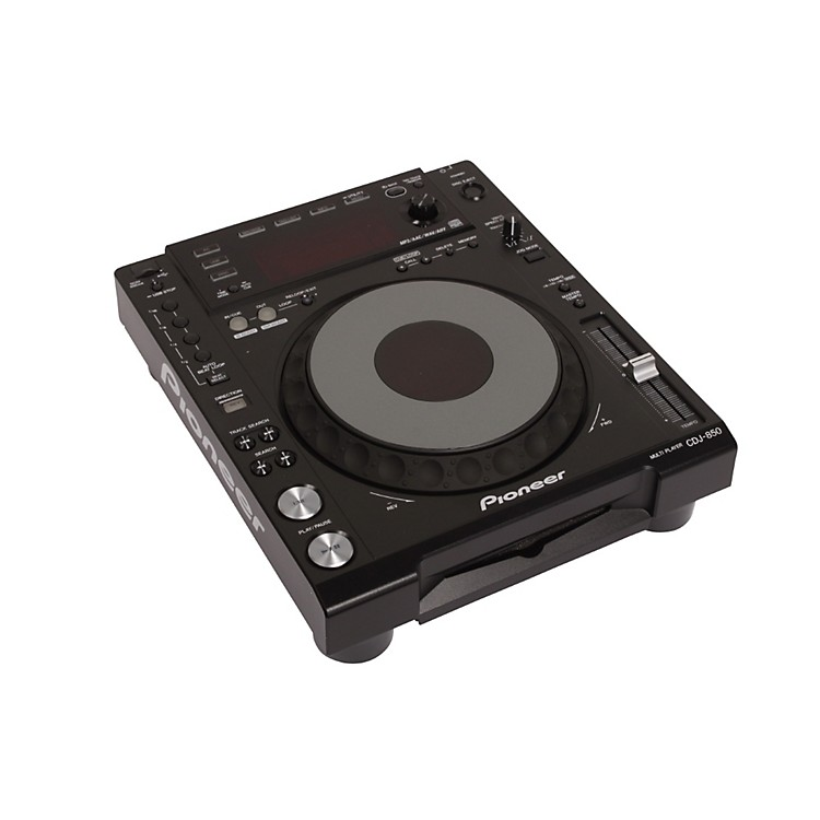 Pioneer CDJ-850 Digital Multi Player (Black) Black Multi format playback