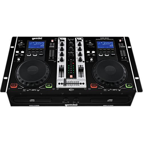 Gemini CDM-3650 Dual CD Mixing Console
